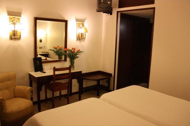 tweepersoonskamer van Hotel Vice Rei Porto