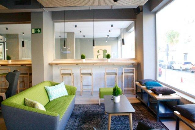 Bar van Hotel Artiem in Madrid