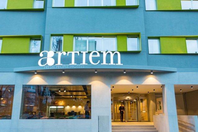 Gebouw van Hotel Artiem in Madrid