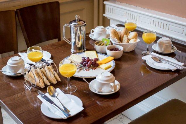 Ontbijt van Hotel Albany House in Dublin