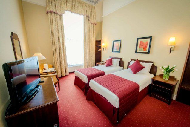 Tweepersoonskamer van Hotel Albany House in Dublin
