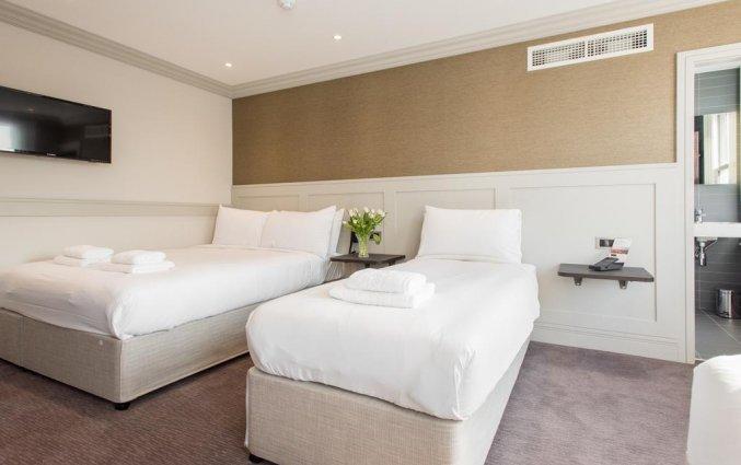 Tweepersoonskamer van Hotel Mowbray Court in Londen