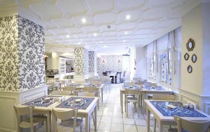 Ontbijtzaal van Hotel Avicenna in Istanbul