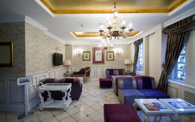 Lounge van Hotel Avicenna in Istanbul