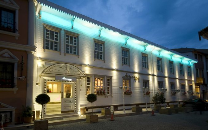 Gebouw van Hotel Avicenna in Istanbul