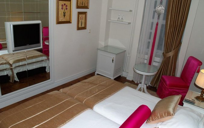 Tweepersoonskamer van Hotel Avicenna in Istanbul