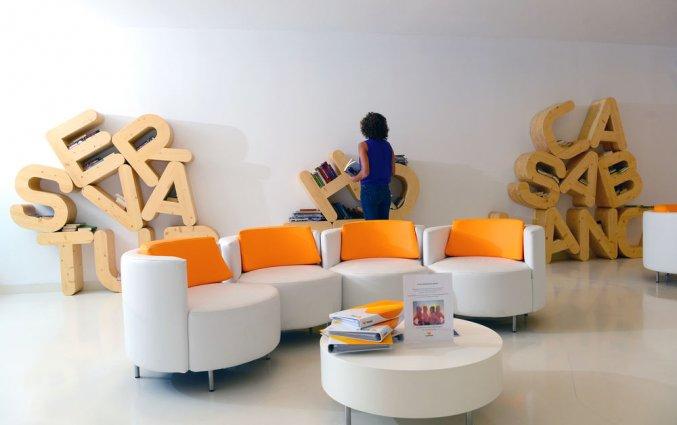 Lobby van Servatur Casablanca Suites & Spa op Gran Canaria