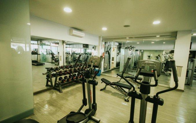 Fitnessruimte van Servatur Casablanca Suites & Spa op Gran Canaria