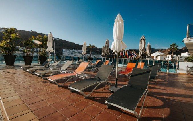 Terras van Servatur Casablanca Suites & Spa op Gran Canaria