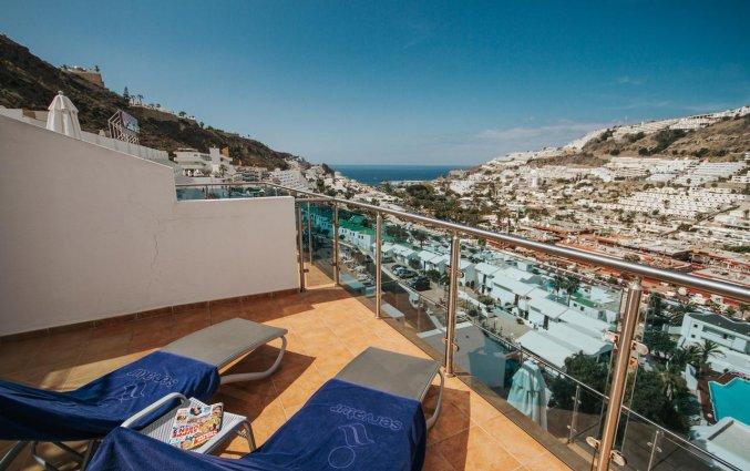 Tweepersoonskamer van Servatur Casablanca Suites & Spa op Gran Canaria