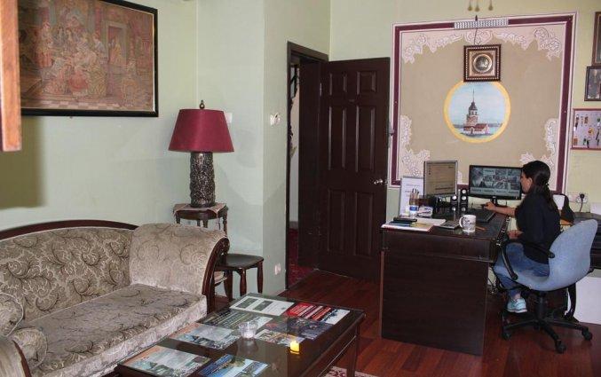 Lobby van Hotel Asmali in Istanbul