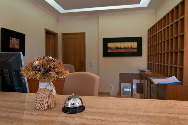 Receptie met bel Appartementen Villas Barrocal Algarve