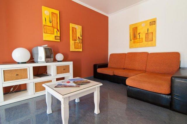 Woonkamer vanAppartementen Villas Barrocal Algarve