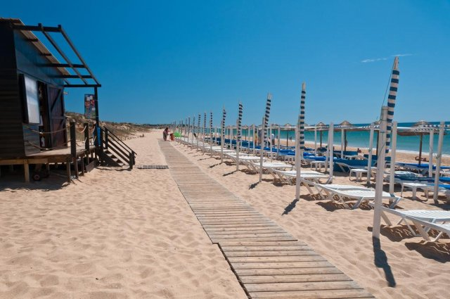 Strand in Algarve