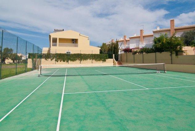 Tennisbaan van Appartementen Villas Barrocal Algarve