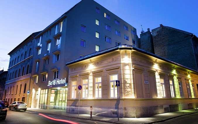 Gebouw van Hotel Bo18 in Budapest