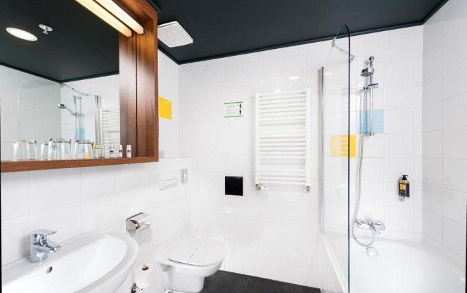 Badkamer in een kamer van Hotel Bo18