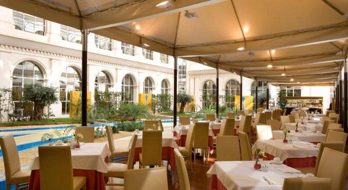 Tuin Hotel Silken Al Andalus