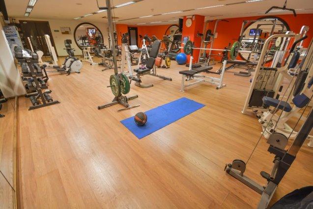 Fitnessruimte van Hotel en Spa Maritim Antonine op Malta