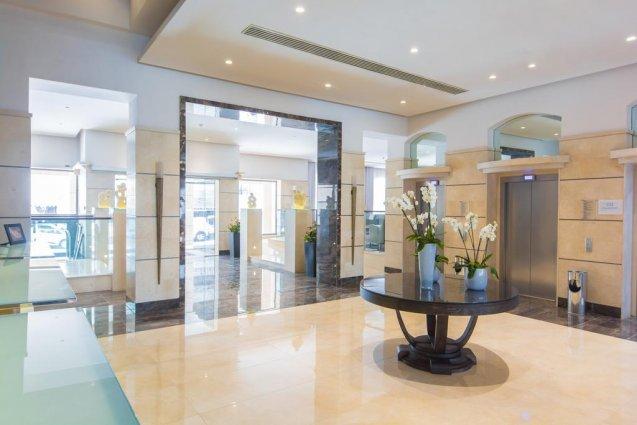 Lobby van Hotel en Spa Maritim Antonine op Malta