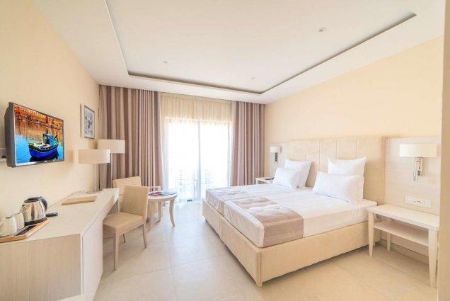 Tweepersoonskamer van Hotel en Spa Maritim Antonine op Malta
