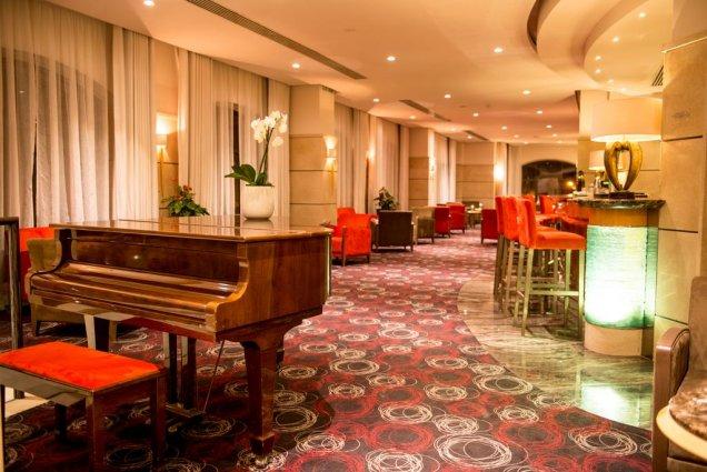 Bar van Hotel en Spa Maritim Antonine op Malta