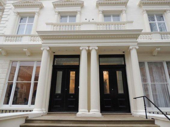Entree van Hotel Hyde Park Boutique in Londen