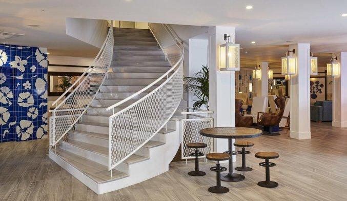 Lobby van Hotel Delamar in Lloret de Mar
