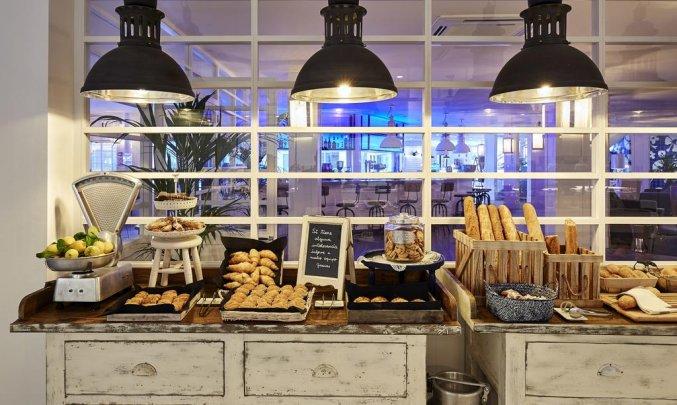 Ontbijtbuffet van Hotel Delamar in Lloret de Mar