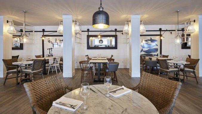 Restaurant van Hotel Delamar in Lloret de Mar