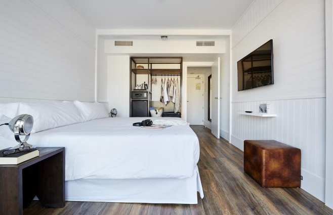 Kamer van Hotel Delamar in Lloret de Mar