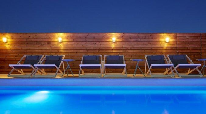 Buitenzwembad van Hotel Delamar in Lloret de Mar