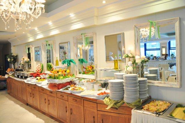 Buffet van Hotel en Spa Secret Paradise op Chalkidiki