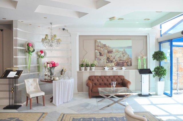 Lobby van Hotel en Spa Secret Paradise op Chalkidiki