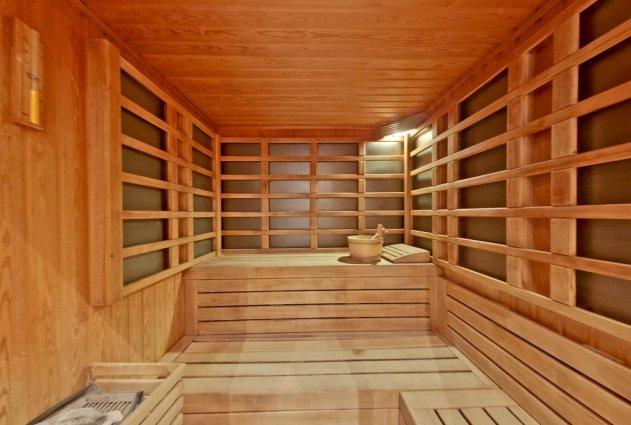 Sauna van Hotel en Spa Secret Paradise op Chalkidiki