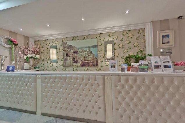 Receptie van Hotel en Spa Secret Paradise op Chalkidiki