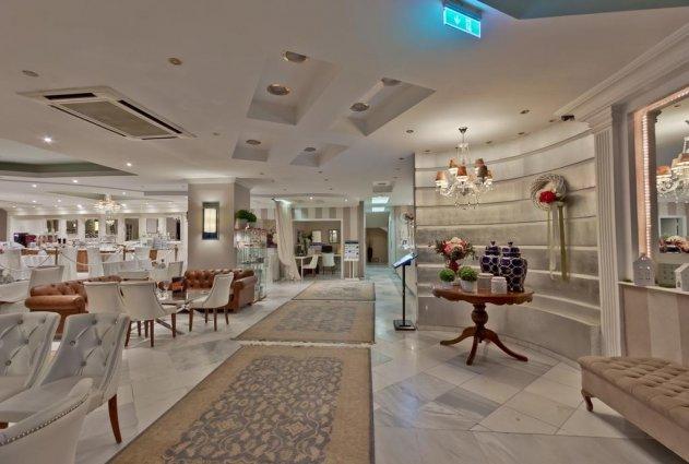 Ontbijtzaal van Hotel en Spa Secret Paradise op Chalkidiki
