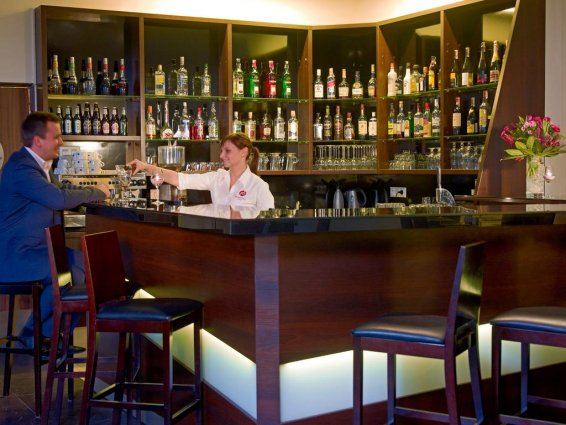 Bar van Hotel Focus in Gdansk