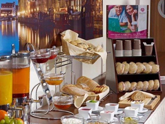 Ontbijbuffet van Hotel Focus in Gdansk