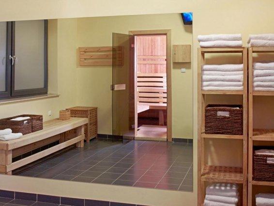 Sauna van Hotel Focus in Gdansk