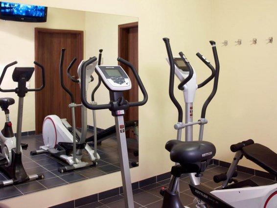 Fitnesscentrum van Hotel Focus in Gdansk