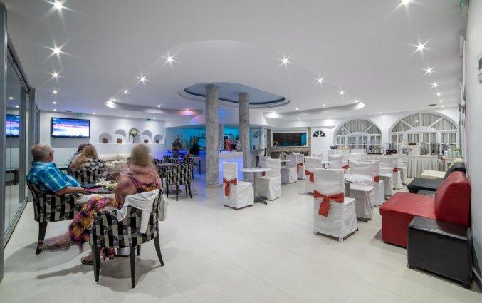 Restaurant van Hotel Villa Olympia op Santorini