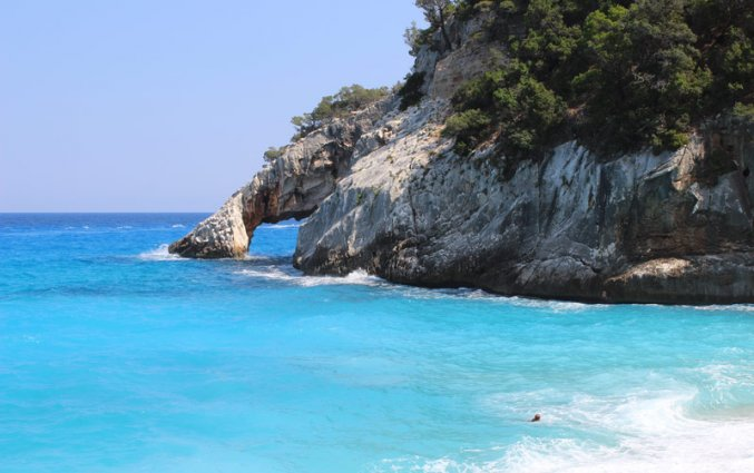 Sardinië - Blauw water