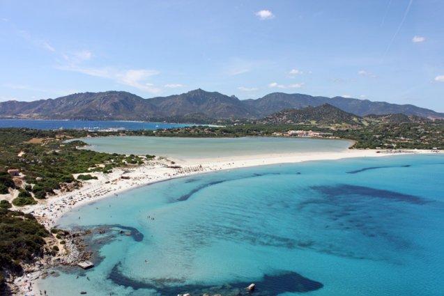 Sardinië - Strand Capo Carbonara