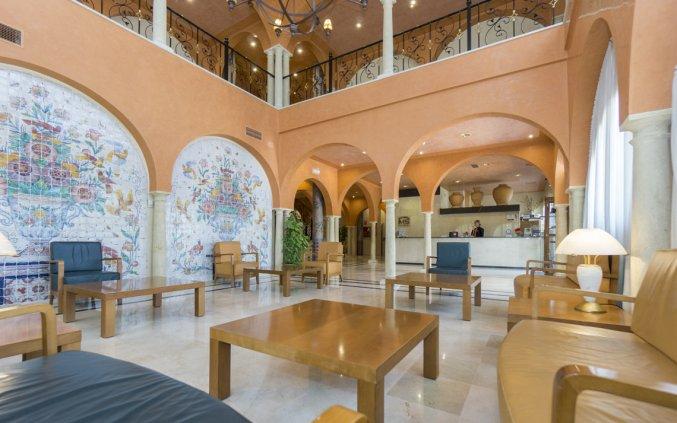 Receptie van Hotel MS Fuente Las Piederas in Andalusie