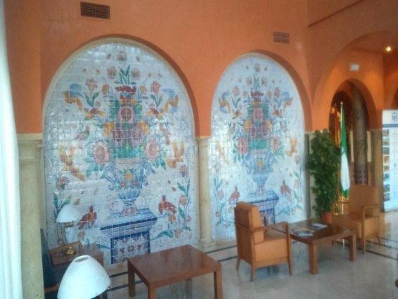 Gang van Hotel MS Fuente Las Piederas in Andalusie