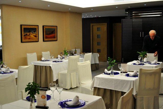 Restaurant van Hotel Oasis