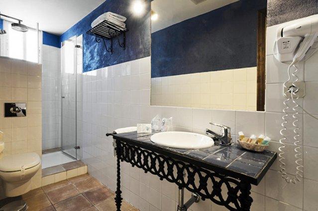Badkamer van Hotel Oasis