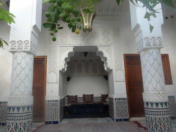 Lounge van Riad Ben Youssef