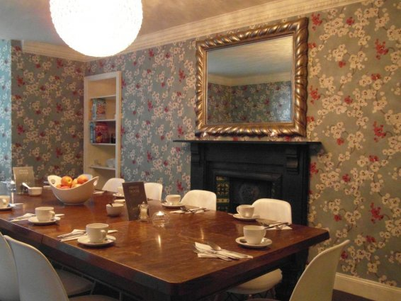 Ontbijtzaal van Hotel Brooks in Edinburgh